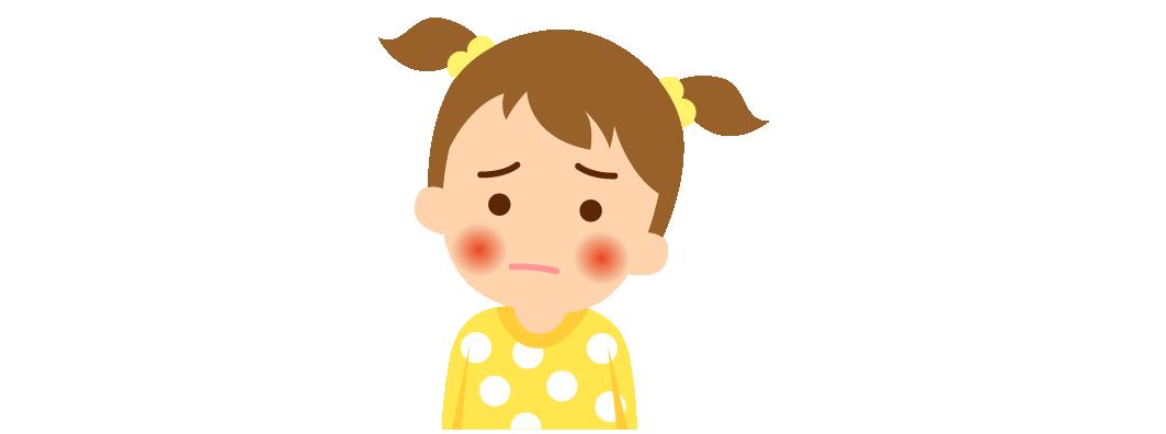 りんご病. 【治療】 全身状態が悪化することはなく予後も良好なので特別な治療を必要としません。 対症療法として、かゆみの強い場合には抗ヒスタミン剤、頭痛や関節痛